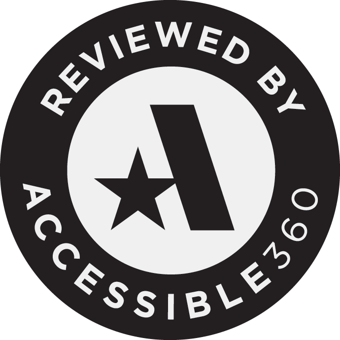 Reviewed by Accessible360; visit their website