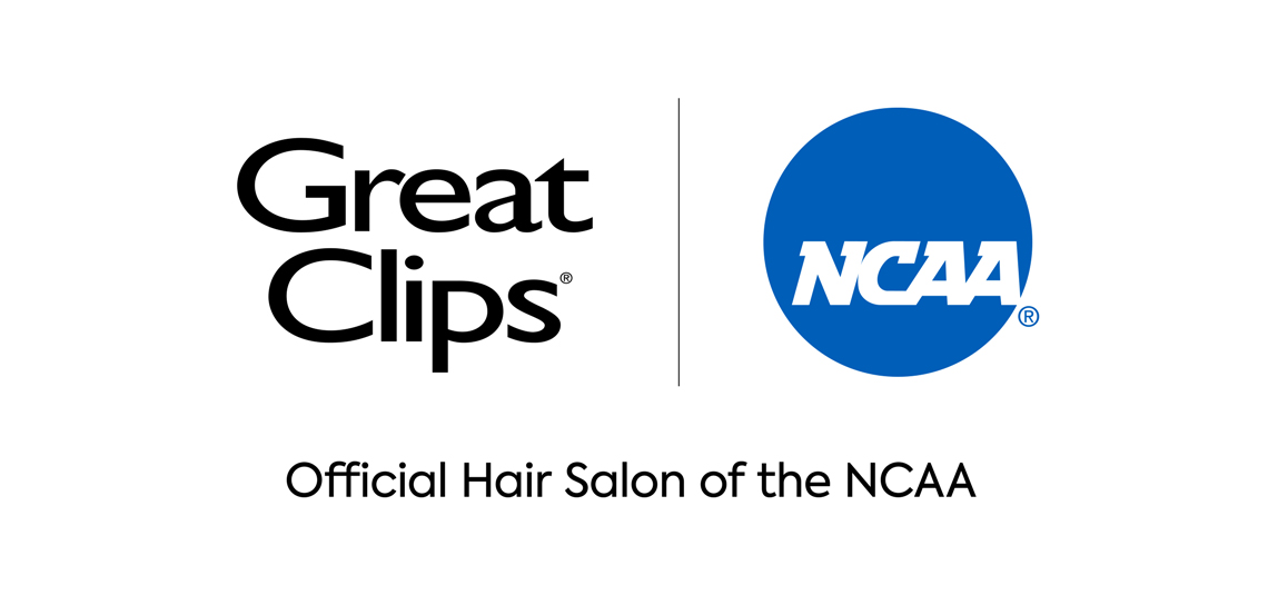 Great Clips logo and NCAA logo side by side