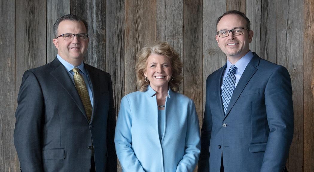 Image of Steve Hockett, Rhoda Olsen, and Rob Goggins