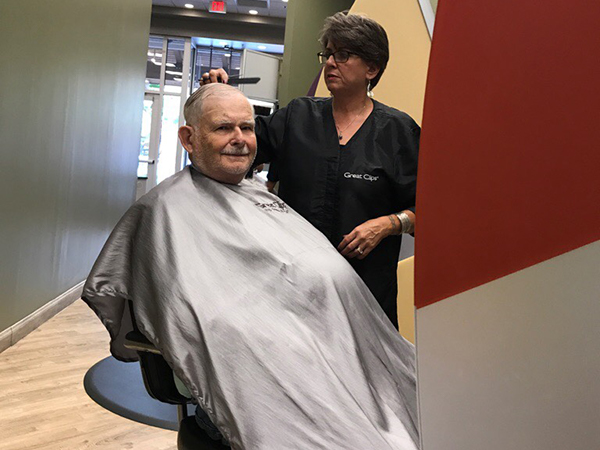 Jerry at Great Clips