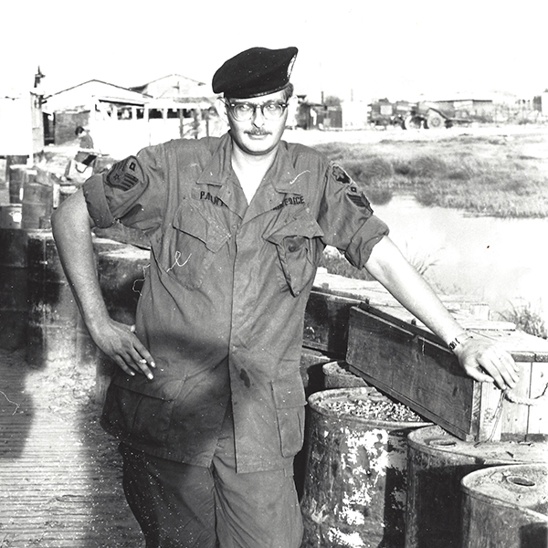 Jerry Painter in the military