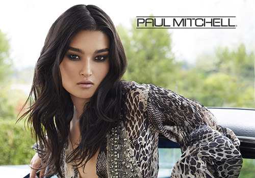 paul mitchell logo and model