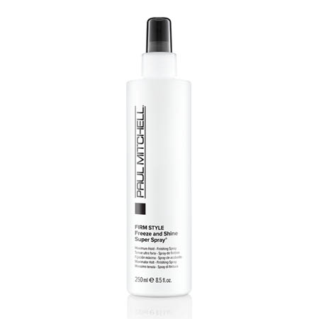 Paul Mitchell Freeze and Shine Super Spray maximum hold finishing spray