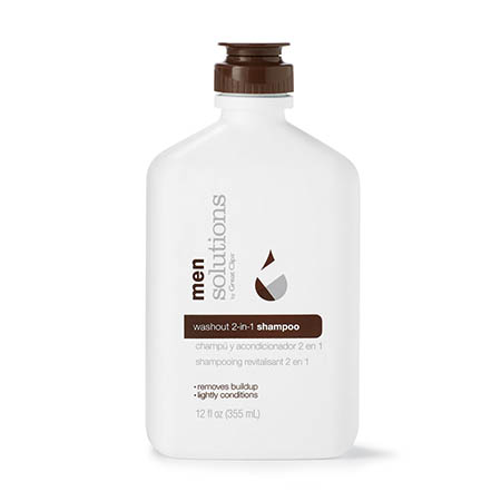 Solutions Mens Washout 2 in 1 Shampoo