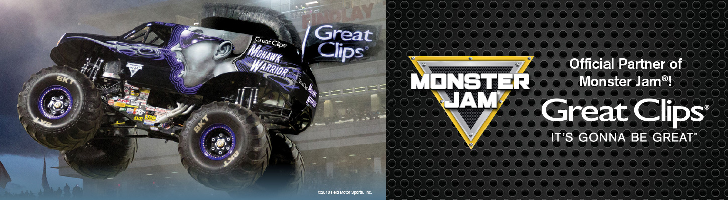 Great Clips Mohawk Warrior Monster Truck
