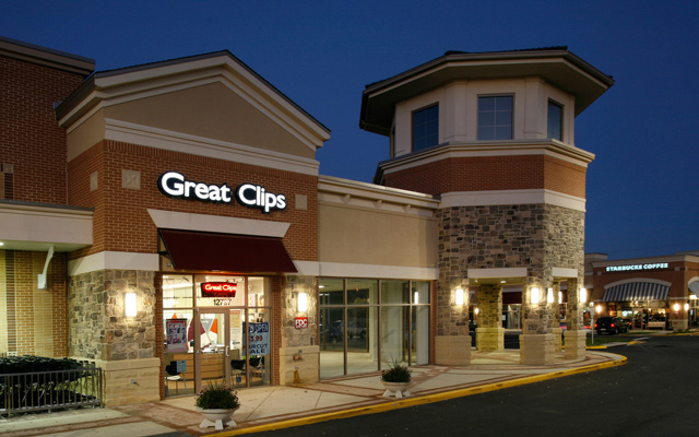 Texas Great Clips Salon exterior view